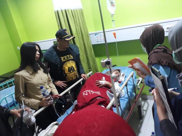 Diduga Keracunan Takjil, Satgas Srikandi Prabowo-Sandi Dilarikan Ke RSCM