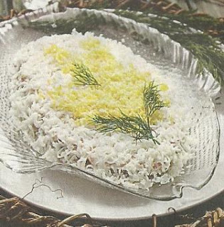 Состав продуктов и приготовление салата