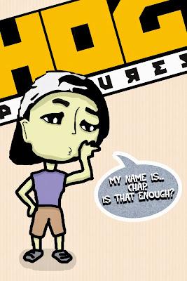 Karakter Animasi 2D | Chap Weirdo Gunwale