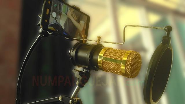 Review Ulasan Microphone Condenser Taffware BM 800
