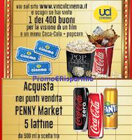 Logo Coca-Cola e Penny Market vi portano al cinema!