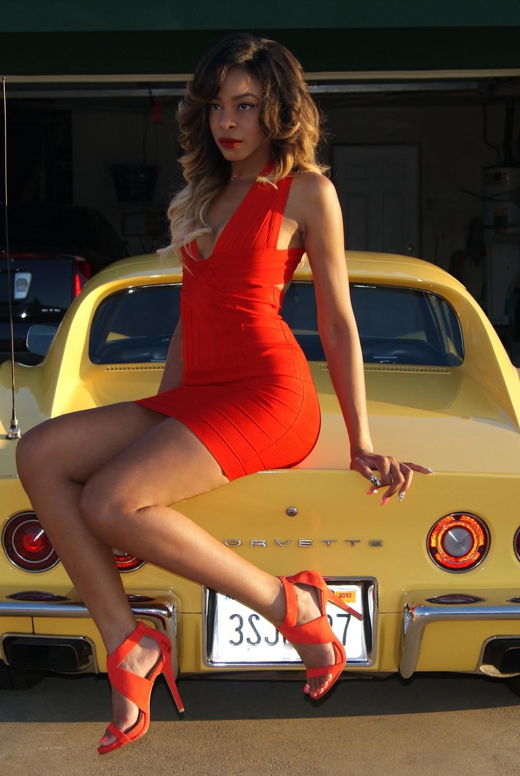 Fast Cars And Girls Wallpaper Little Red Corvette Allthingsslim