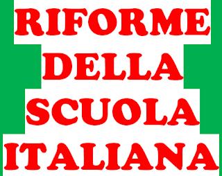 RIFORME DELLA SCUOLA ITALIANA -Legge Casati - Regno di Sardegna, 1859 e poi estesa a tutto il Regno d'Italia