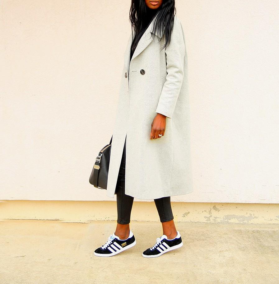 manteau-long-asos-adidas-gazelle-legging-cuir-givenchy-antigona-ootd
