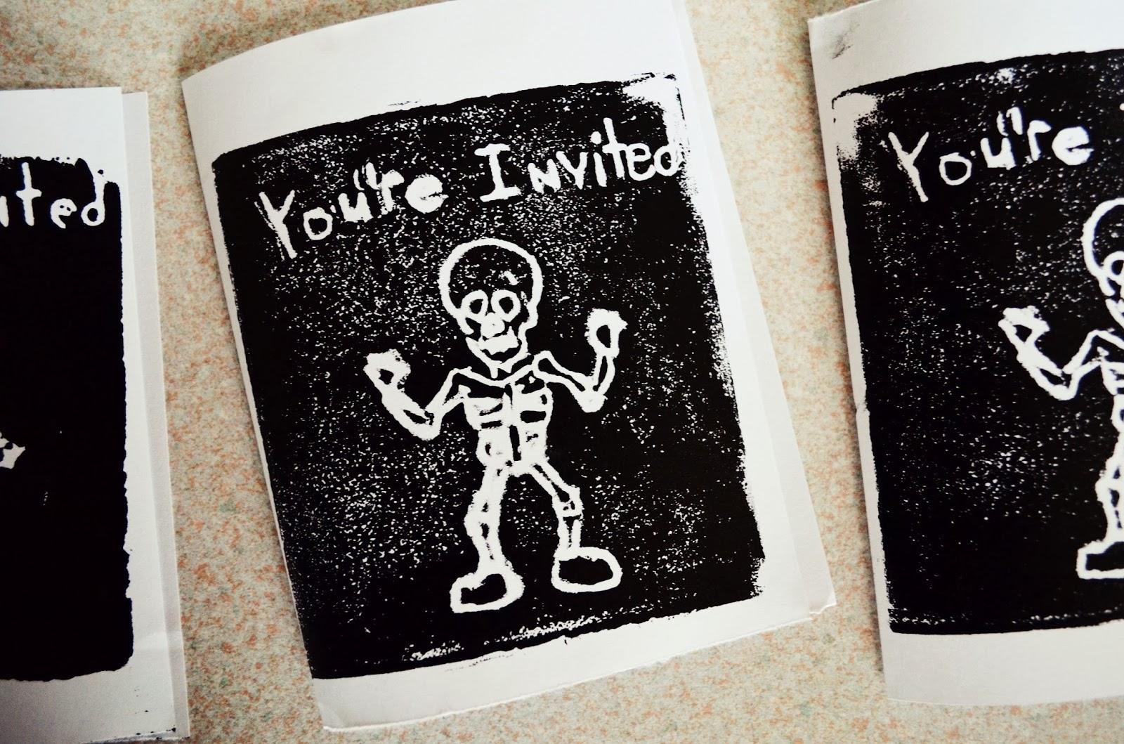 Diy Halloween Party Invitations