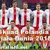 Skuad pemain Polandia Piala Dunia 2018