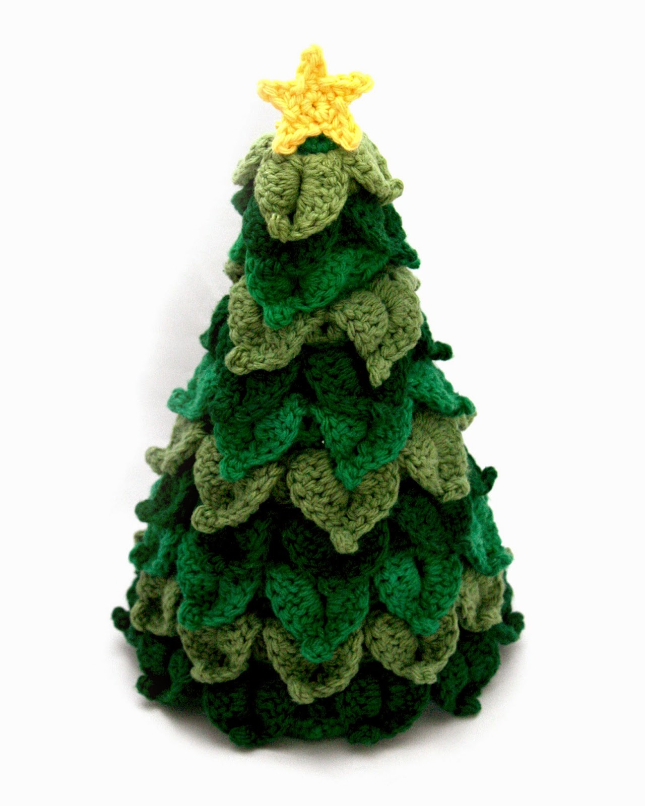 Little Abbee: O Crochet Christmas Tree! Crochet TUTORIAL