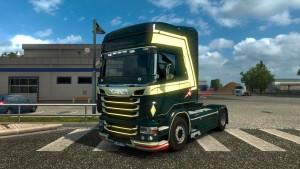 Night Rider Skin for Scania RJL