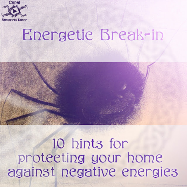 Energetic Break-in - 10 hints for protecting your home against negative energies | Witch, Witchcraft, Paganism, Wicca
