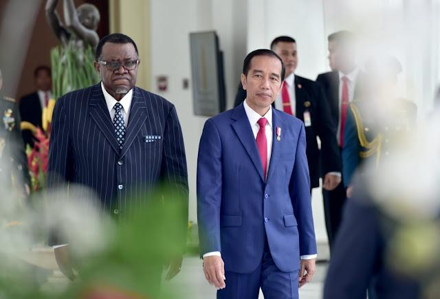 Indonesia-Namibia Sepakat Tingkatkan Kerja Sama Infrastruktur dan Kemaritiman