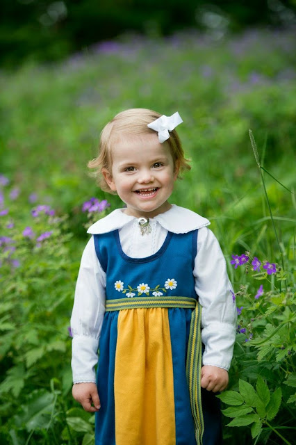 Swedish Royal Family celebrates national day in Sweden. New photos of Princess Estelle on the occasion of National Day