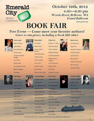 Emerald City Writers' Conference 2013 Bookfair