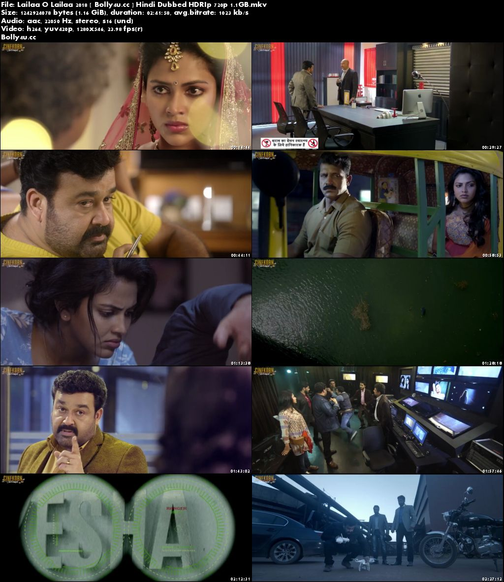 Lailaa O Lailaa 2018 HDRip 450MB Hindi Dubbed 480p Download