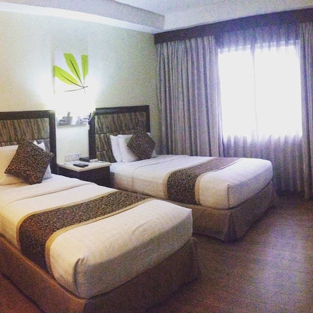 De luxe room at Diamond Suites