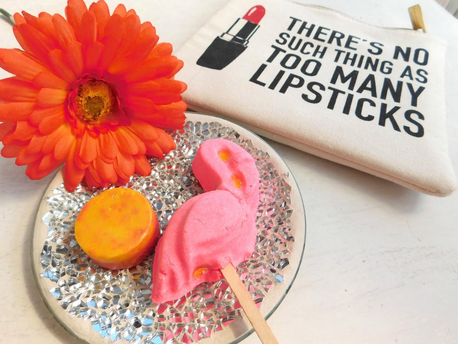Lush Haul, Lush Favourite Products, Flamingo Lush, Marshmallow Lush, Lush Bubble Ba