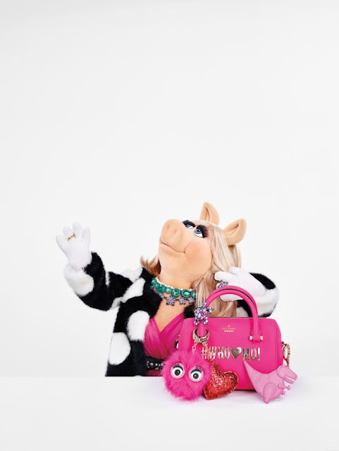 Miss Piggy in the Kate Spade holiday campaign. Photo: Courtesy