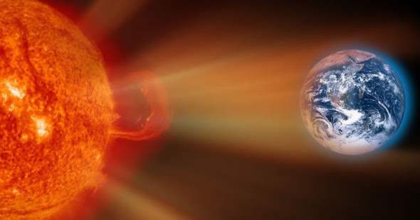 Space Warning: Solar Storm To Hit Earth In Two Days As ...
