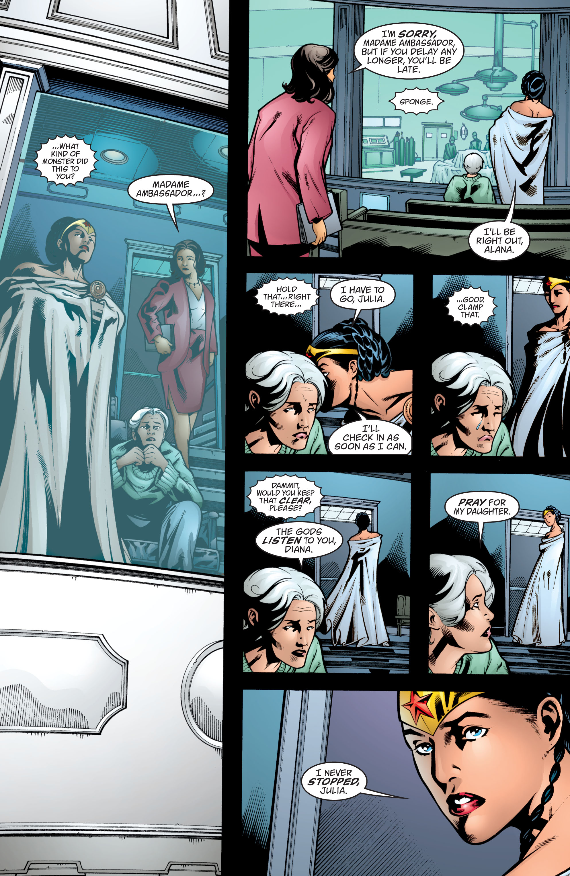 Read online Wonder Woman (1987) comic -  Issue #208 - 3