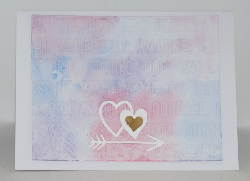 rosarot blaugr n gastdesign cuyl 45 watercolor karte mit aquarelleffekt. Black Bedroom Furniture Sets. Home Design Ideas