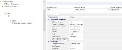 Connecting SAP HANA Views to Sensor Data from Osisoft PI