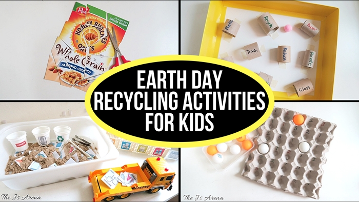 Earth Day Recycling Activities for Kids