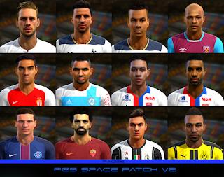 PES 2013 PES Space Patch Season 2016/2017