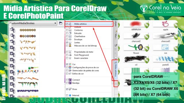 Mídia Artística Para CorelDRAW