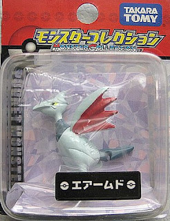 Skarmory Pokemon Figure Tomy Monster Collection MC series