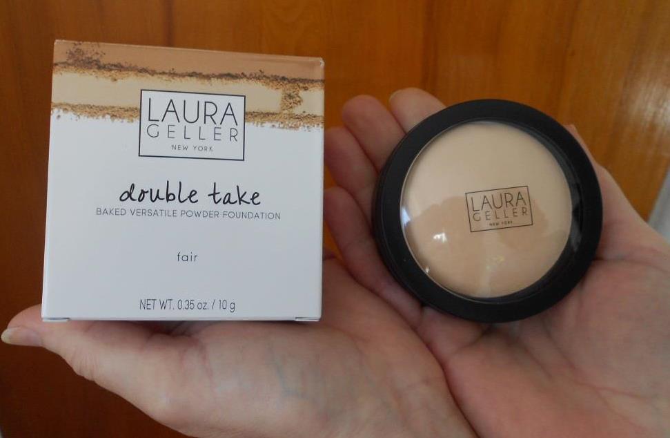 Laura Geller Double Take Baked Powder Foundation