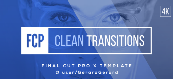 TRANSITIONS PACK - FCPX (APPLE MOTION) - Design Platinum