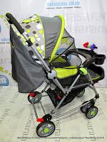 Kereta Bayi Pliko PK298R Ranger Rocker-Hadap Depan dan Belakang