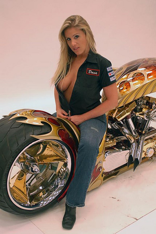 Moto Twist Most Hot Motorcycle Babes-5845