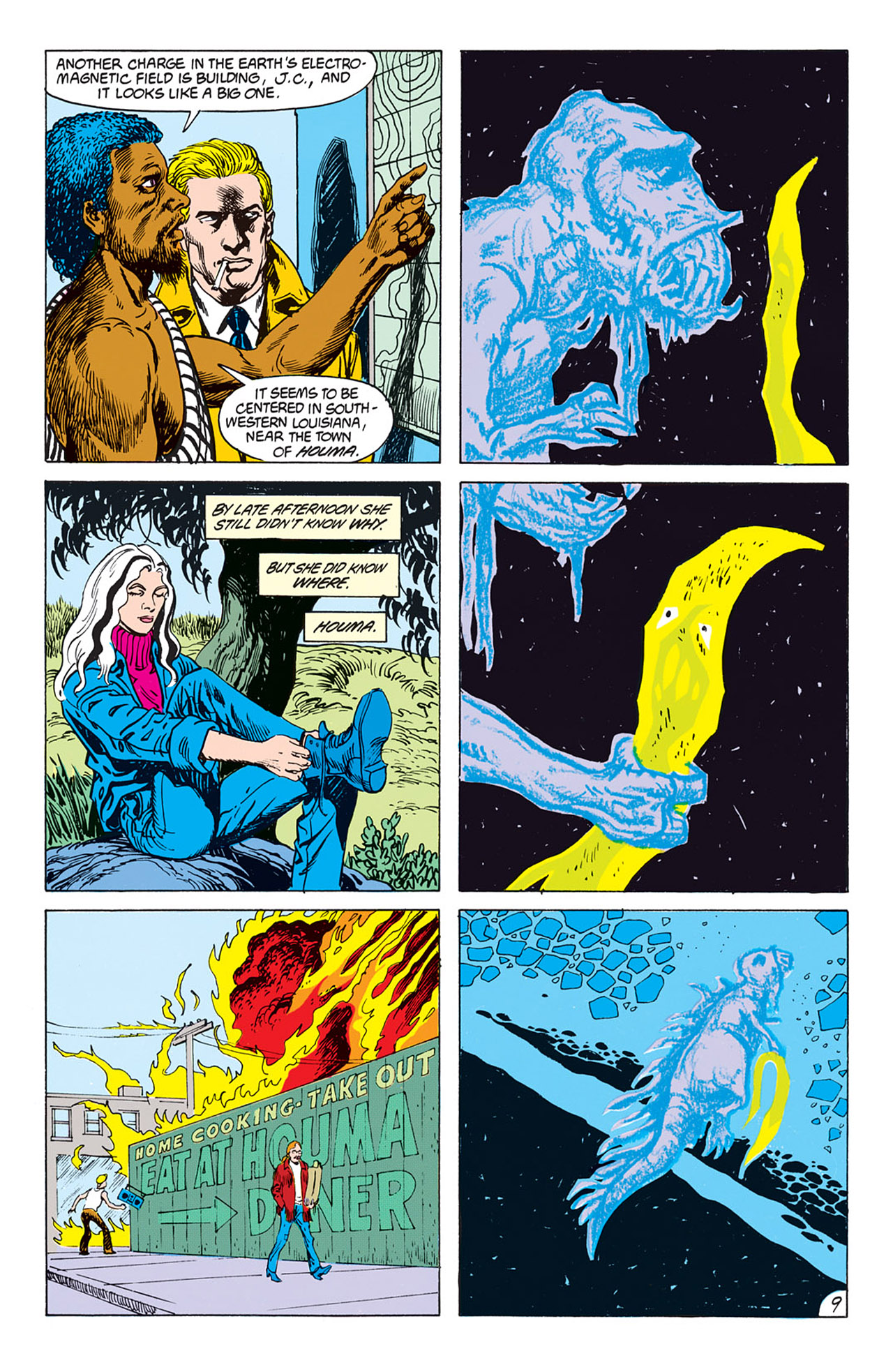 Swamp Thing (1982) Issue #73 #81 - English 10