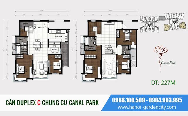 chung cư Hà Nội Garden City, chung cư Canal Park Long Biên