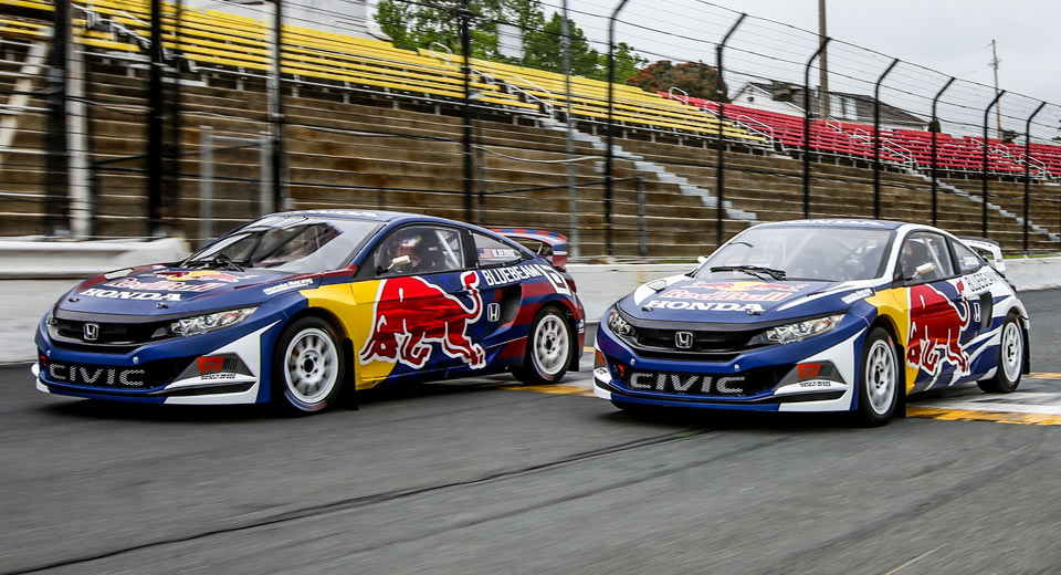 Grc Civic >> Honda's New Civic Coupe Look The Slickest In Rallycross