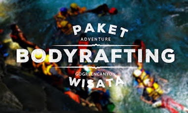 wisata body rafting di green canyon