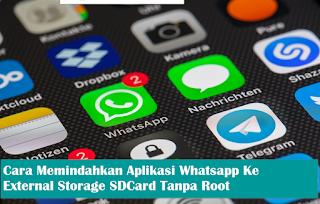 Cara Memindahkan Media Penyimpanan WhatsApp Ke Micro SD Card Tanpa Root