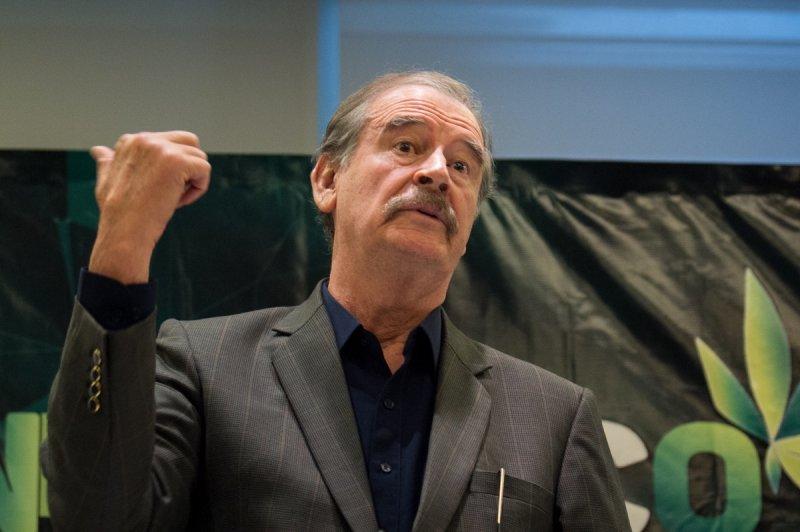 """Vicente Fox explota: """"No es justo que nos quiten nuestra pensión""""."""