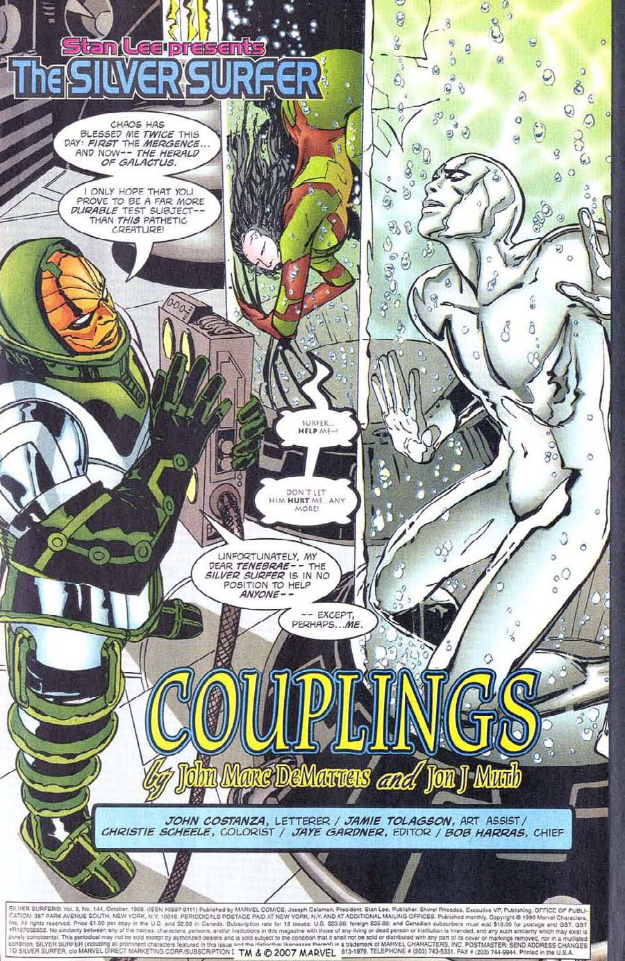 Read online Silver Surfer (1987) comic -  Issue #144 - 5