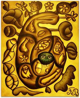 O Monstro Marinho [Francisco Brennand] (1981) Óleo sobre Tela