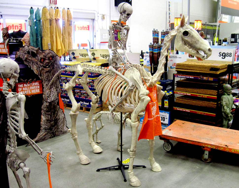 Orts available now at the home depot Halloween decorations home depot
