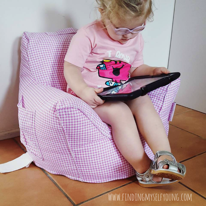 Mini Beanz toddler chair