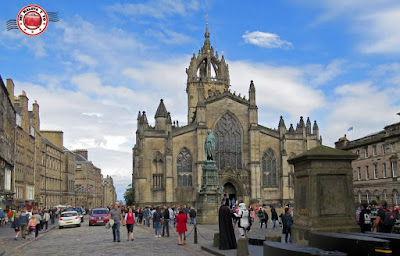 Escocia, Edimburgo, Royal Mile - Catedral