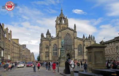 Escocia, Edimburgo, Royal Mile - Catedral