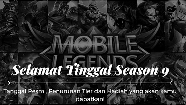 Reset Season 9 Mobile Legend! Ini Tanggal, Turun Tier, dan Hadiah Yang akan Kamu Dapatkan!