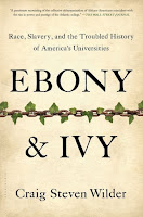 Book Cover - Ebony and Ivory - Race Slavery and the Trouble History of American's Universities