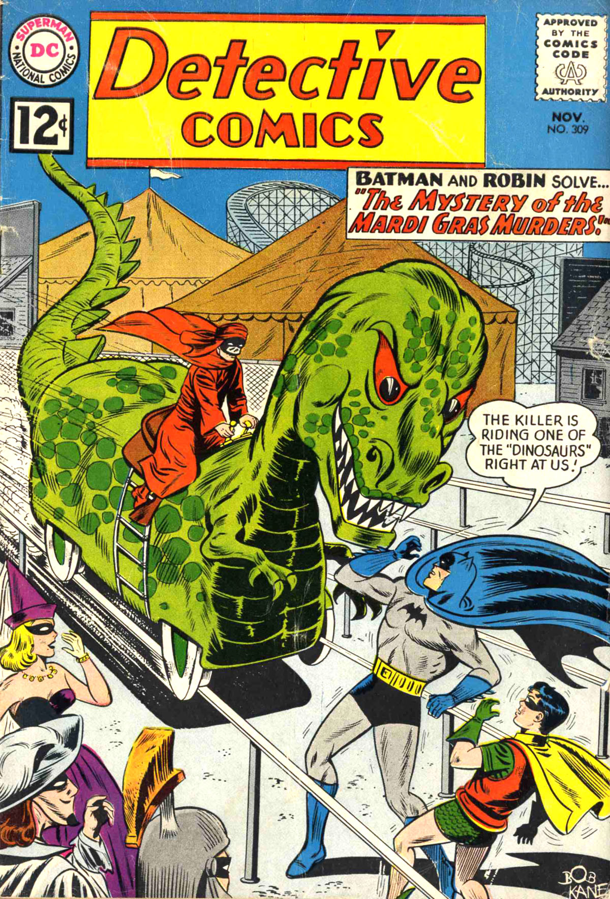 Detective Comics (1937) 309 Page 0