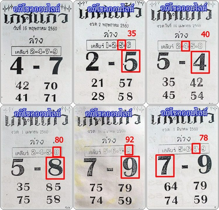 thai lotto sure total