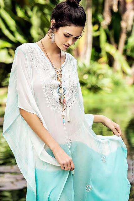 Moda primavera verano 2017 looks India Style. Moda vestidos, túnica y pantalones primavera verano 2017 | Moda verano 2017.
