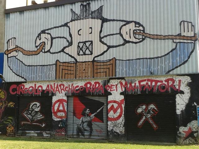 ציור קיר בשכונת נבילי
